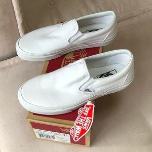 Vans Classic White Slip-ons